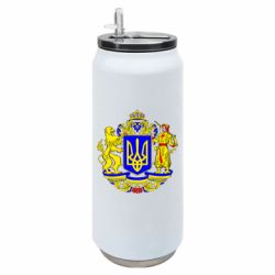 Термобанка 500ml Герб Украины полноцветный