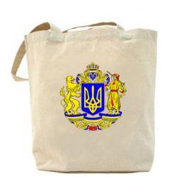 Сумка Герб Украины полноцветный - FatLine