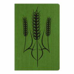 Блокнот А5 Герб України з колосками пшениці
