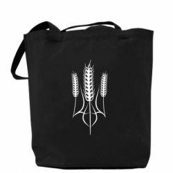 Сумка Герб України з колосками пшениці