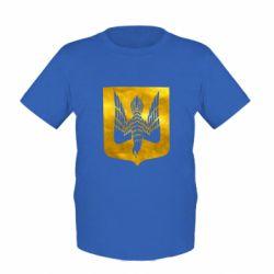 Детская футболка Герб Украины сокол Голограмма