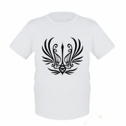 Дитяча футболка Герб України у вигляді арфи