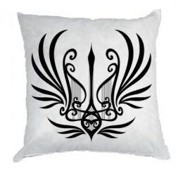 Подушка Герб України у вигляді арфи
