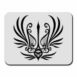 Килимок для миші Герб України у вигляді арфи