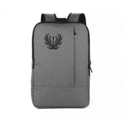 Рюкзак для ноутбука Герб України у вигляді арфи