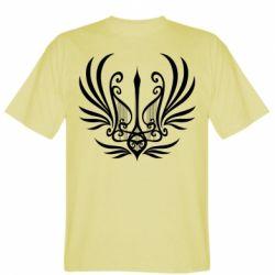 Чоловіча футболка Герб України у вигляді арфи