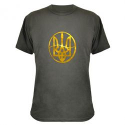 Камуфляжная футболка Герб в кругу Голограмма