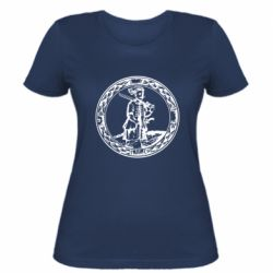 Женская футболка Герб Війська Запорозького