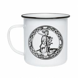 Кружка эмалированная Герб Війська Запорозького