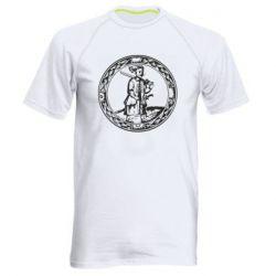 Мужская спортивная футболка Герб Війська Запорозького