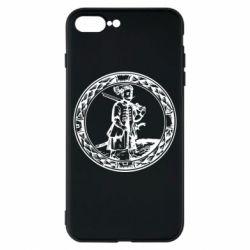 Чехол для iPhone 8 Plus Герб Війська Запорозького