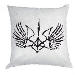 Подушка Герб з крилами - FatLine
