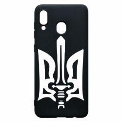Чехол для Samsung A30 Герб з мечем