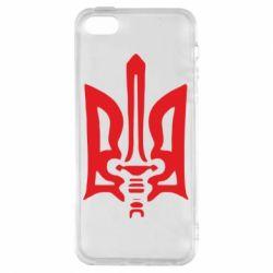 Чехол для iPhone5/5S/SE Герб з мечем
