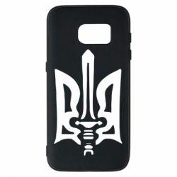 Чехол для Samsung S7 Герб з мечем