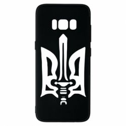Чехол для Samsung S8 Герб з мечем