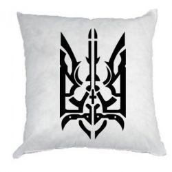 Подушка Герб з металевих частин - FatLine