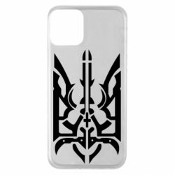 Чохол для iPhone 11 Герб з металевих частин