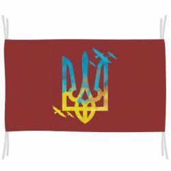 Прапор Герб з птахами