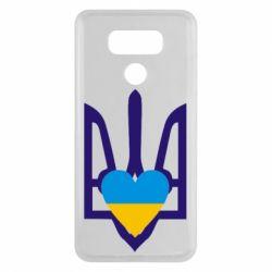 Чехол для LG G6 Герб з серцем - FatLine