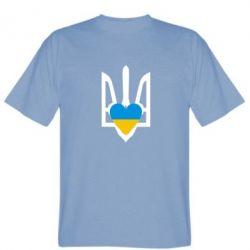 Мужская футболка Герб з серцем - FatLine