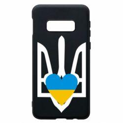 Чохол для Samsung S10e Герб з серцем