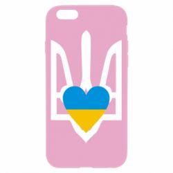 Чехол для iPhone 6/6S Герб з серцем - FatLine
