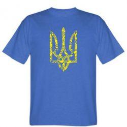 Чоловіча футболка Герб з візерунками