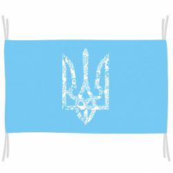 Флаг Герб з візерунками