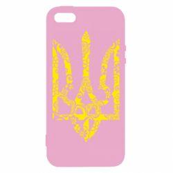 Чехол для iPhone5/5S/SE Герб з візерунками