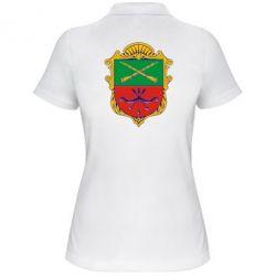 Женская футболка поло Герб Запоріжжя - FatLine