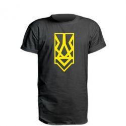 Подовжена футболка Герб