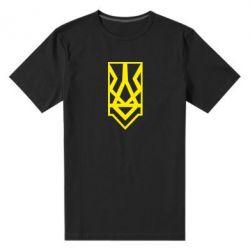 Чоловіча стрейчева футболка Герб
