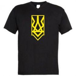 Чоловіча футболка з V-подібним вирізом Герб