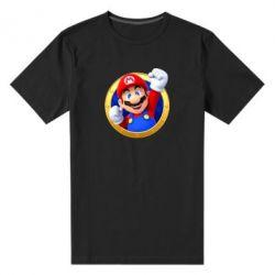 Чоловіча стрейчева футболка Герой Маріо