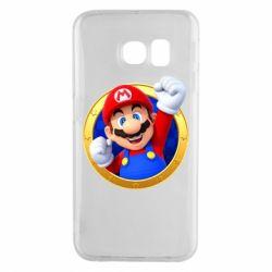 Чохол для Samsung S6 EDGE Герой Маріо