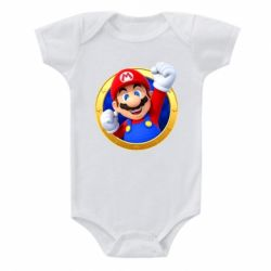 Дитячий бодік Герой Маріо