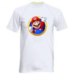Чоловіча спортивна футболка Герой Маріо