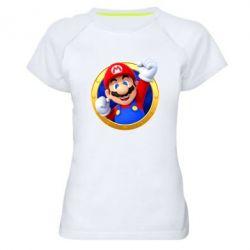 Жіноча спортивна футболка Герой Маріо