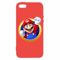 Чохол для iphone 5/5S/SE Герой Маріо