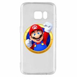Чохол для Samsung S7 Герой Маріо