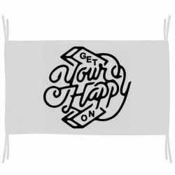 Прапор Get your happy on