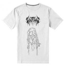 Чоловіча стрейчева футболка Ghostemane gothic paint face
