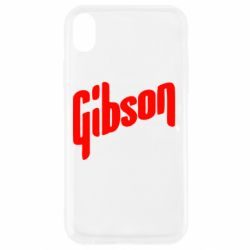 Чохол для iPhone XR Gibson