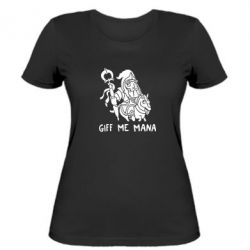 Женская футболка Giff Me Mana - FatLine