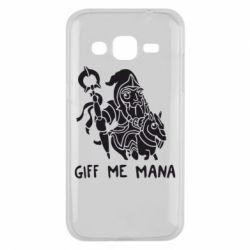 Чехол для Samsung J2 2015 Giff Me Mana