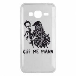 Чехол для Samsung J3 2016 Giff Me Mana