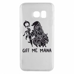 Чехол для Samsung S6 EDGE Giff Me Mana