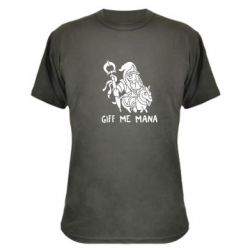 Камуфляжная футболка Giff Me Mana - FatLine