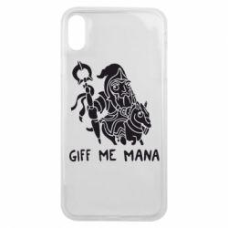 Чехол для iPhone Xs Max Giff Me Mana